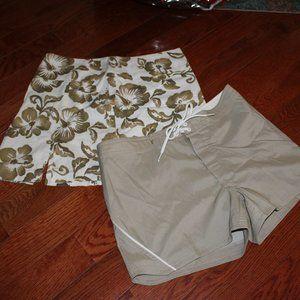 Roxy shorts & skirt